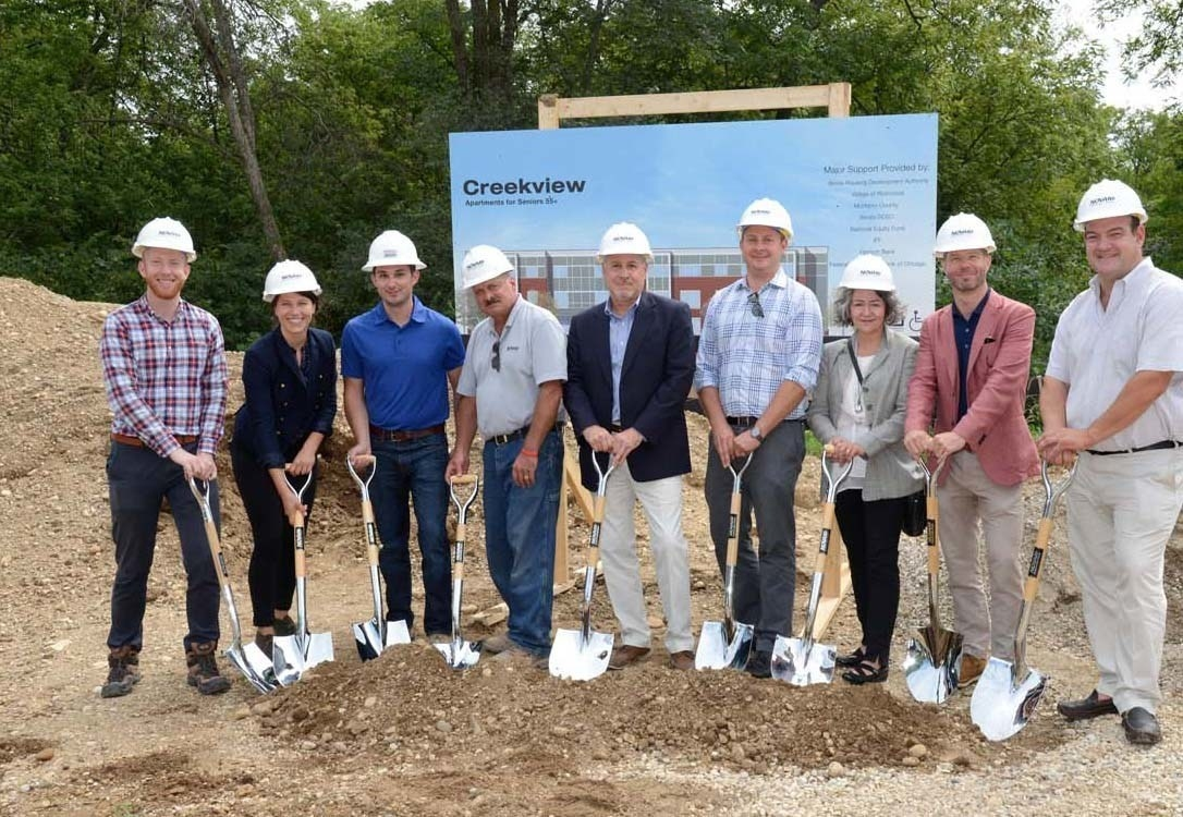 Creekview Groundbreaking